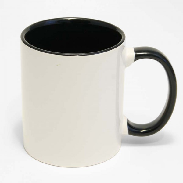 Kaffeebecher BiColor Plus Schwarz