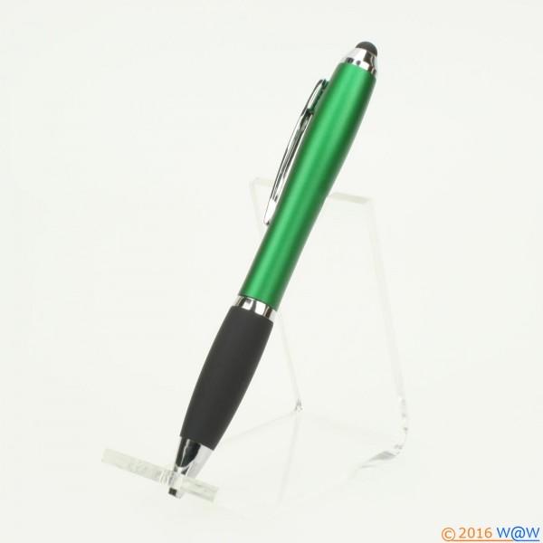 Kugelschreiber Curves Touch grün