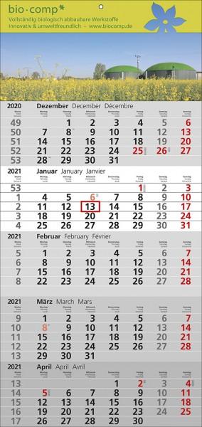 5-Monats-Wandkalender Standard 5