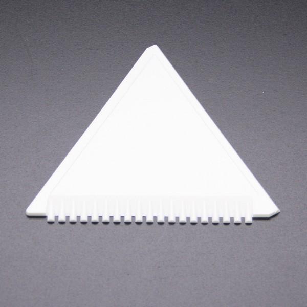Eiskratzer Dreieck Weiß