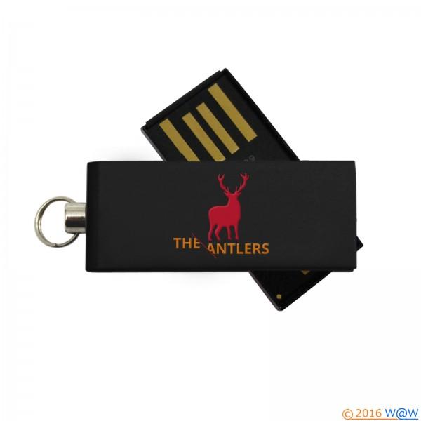 USB Micro-Twist schwarz